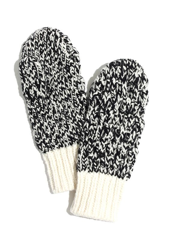 Madewell Cabletwist Mittens