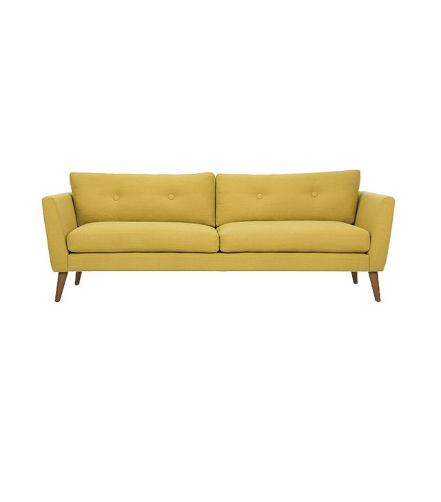 Emil Chartreuse Yellow Sofa
