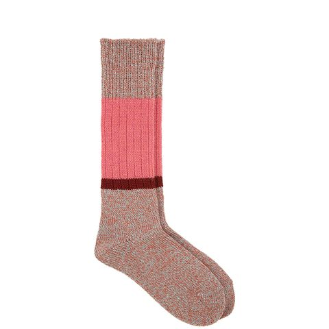Colorblock Melange Socks