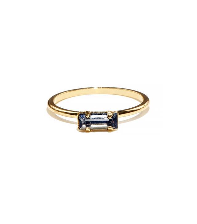 Bing Bang Tiny Baguette Ring