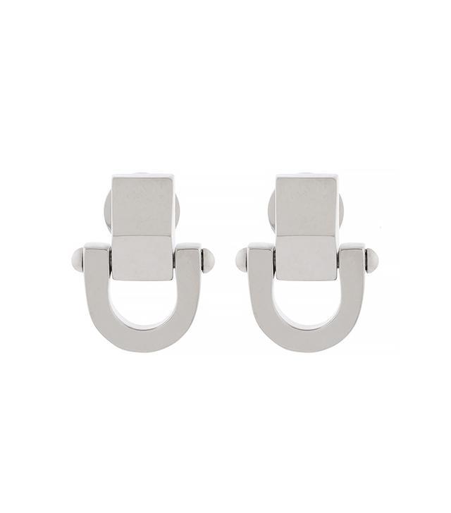 Henri Bendel Horse Bit Stud Earrings