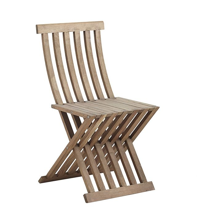 Wisteria Slatted Folding Chair