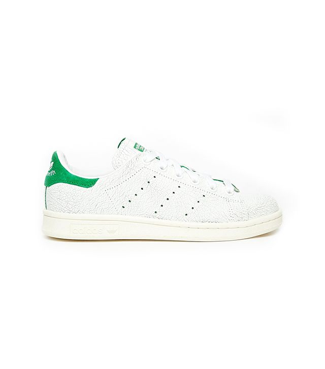 Adidas Originals Stan Smith Cracked Leather Sneakers
