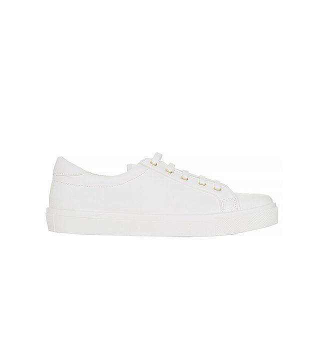 Topshop Copenhagen Lace Up Trainers