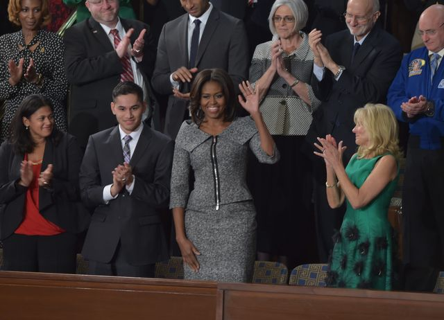 Michelle Obama Wore Her First Suit Ever to the State of the Union