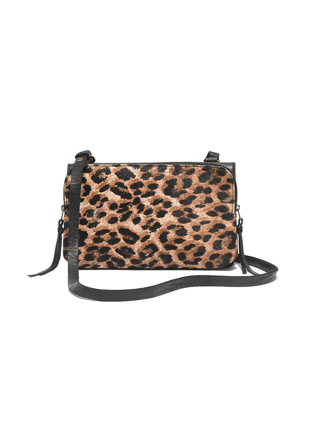 Madewell The Twin-Pouch Crossbody