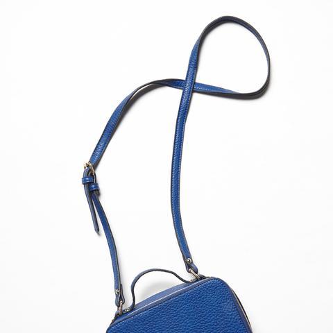 Vegan Cobra Crossbody Bag