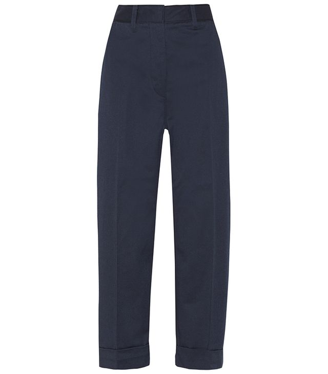 Acne Studios Twill Wide-Leg Pants