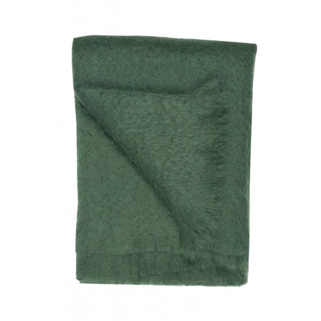 Jayson Home Emerald Mohair Throw