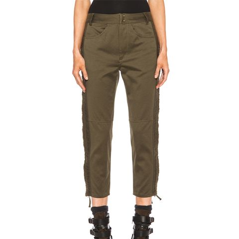 Jesse Cotton Satin Pant