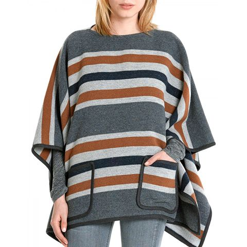 Patch Pocket Poncho