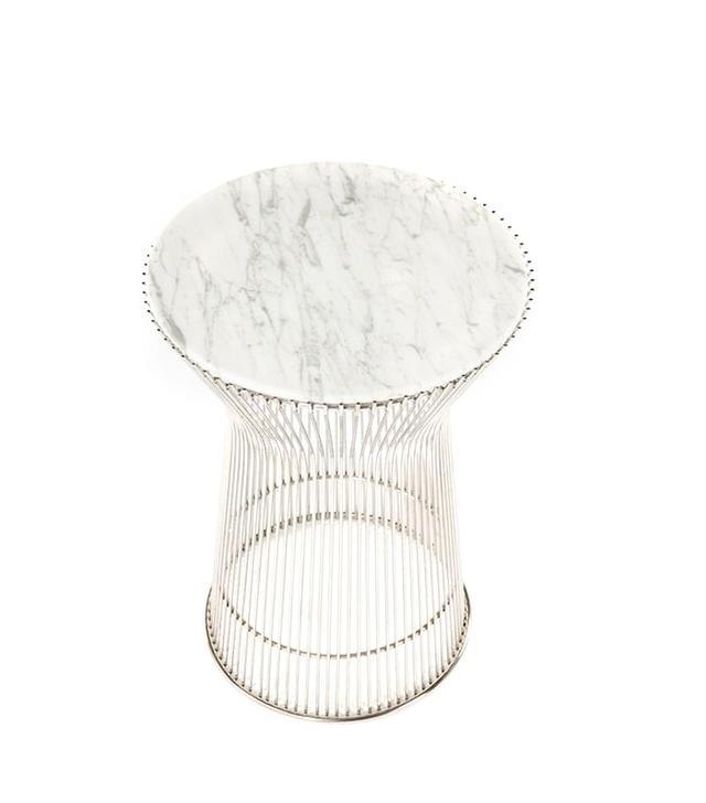 Platner Marble Side Table