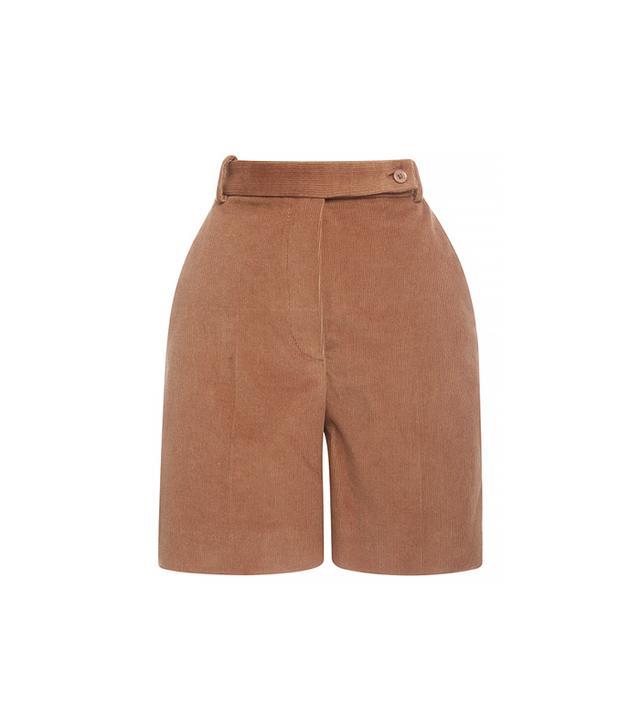 Carven Corduroy Bermuda Shorts