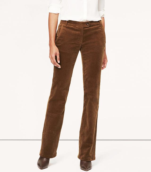 Loft Corduroy Trouser Pants