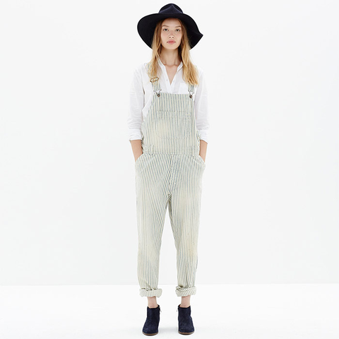 Chimala Hickory Denim Overalls