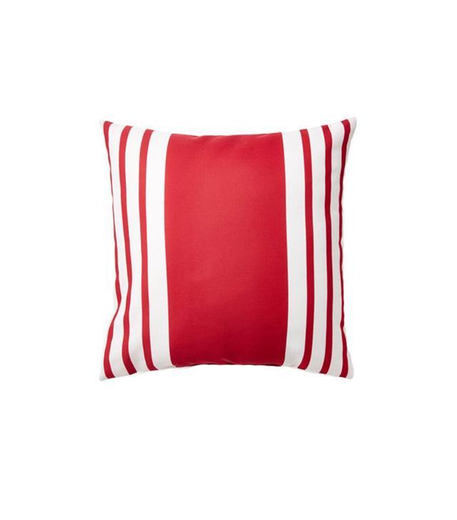 E by Design Fun Stripe Pillow