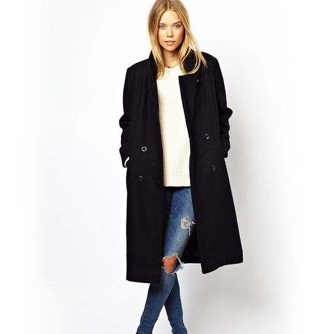 Military Long Classic Coat