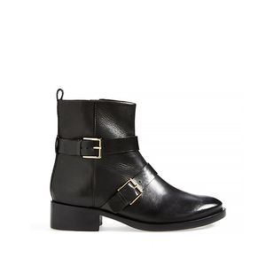 Riley Leather Moto Boots