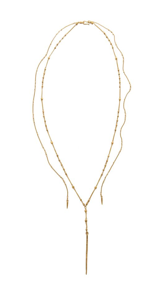 Chan Luu Chain Needle Necklace