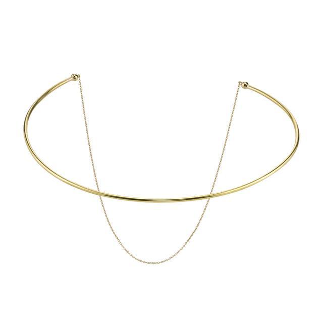 Gabriela Artigas Orbit Co-Orbit Choker with Draping Chain