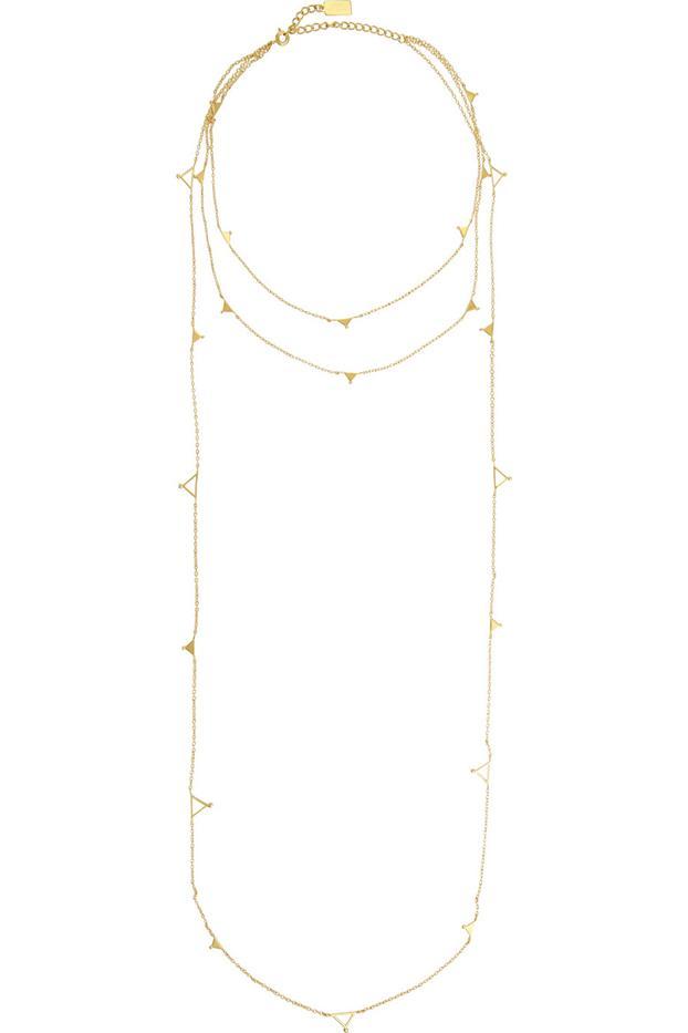 Arme De L'Amour Gold-Plated Necklace