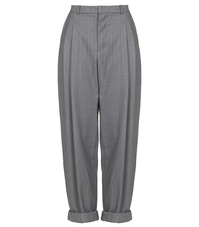 Topshop Tweed Mensy Trousers