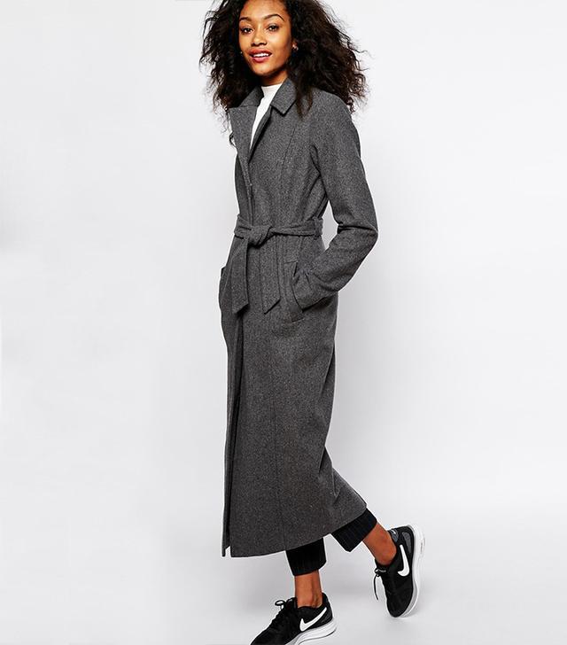 Vero Moda Longline Belted Coat