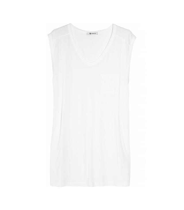 T by Alexander Wang Classic Muscle Jersey T-Shirt