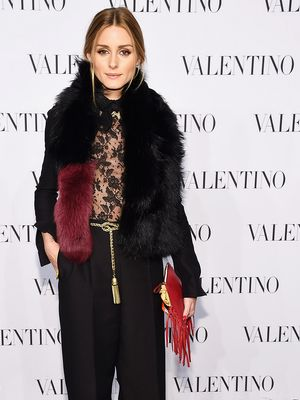 How Olivia Palermo Keeps Warm in Frigid Temperatures