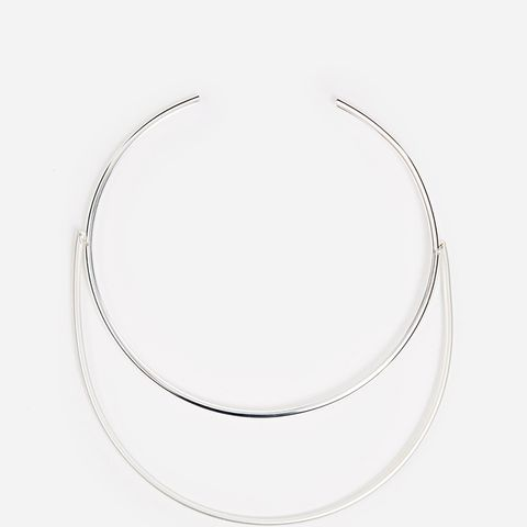 Weekday Snag Crescent Collar Necklace