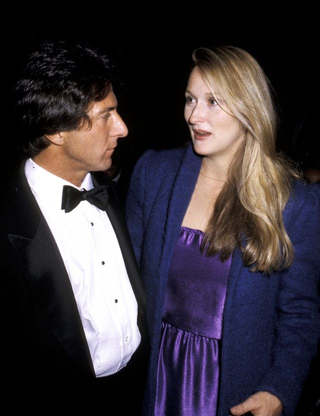 Meryl Streep with Dustin Hoffman, 1979