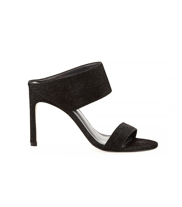 Stuart Weitzman MySlide Leather Sandals