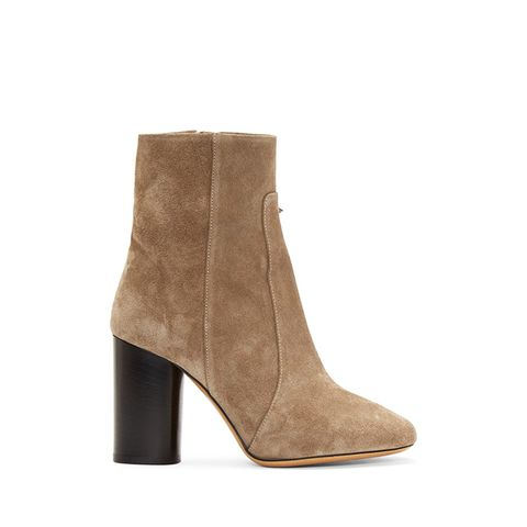 Tan Suede Garbo Bootsy Boots