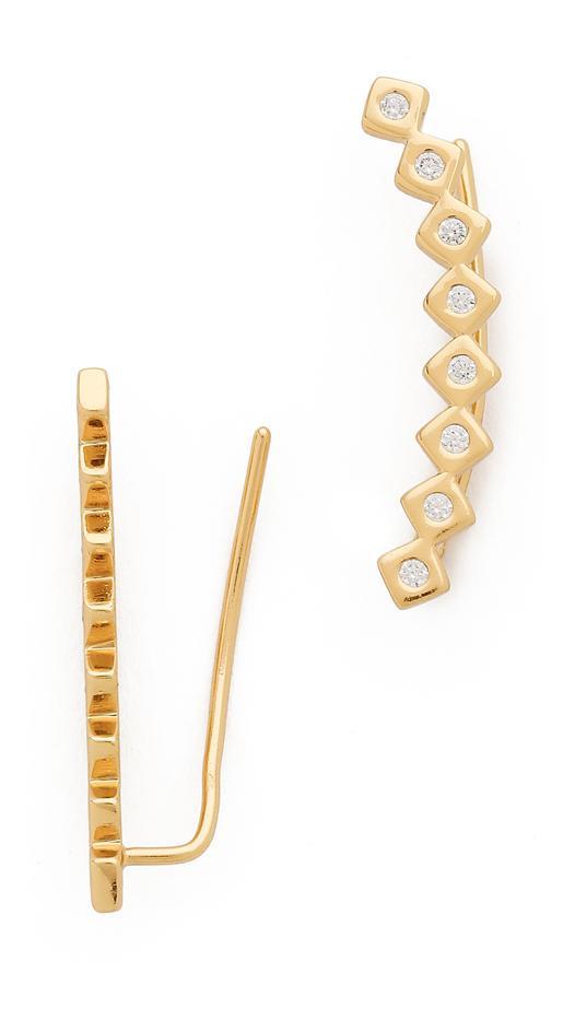 Gorjana,Jules Smith Ryder Shimmer Ear Crawlers