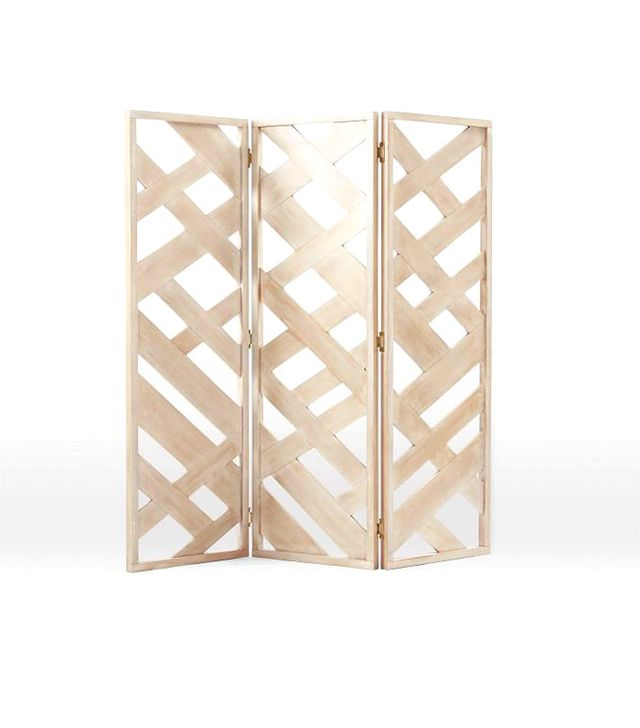 West Elm Fretwork Screen