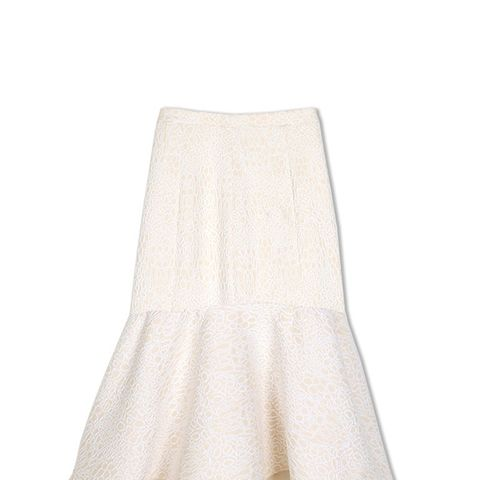 Cloque Midi Skirt