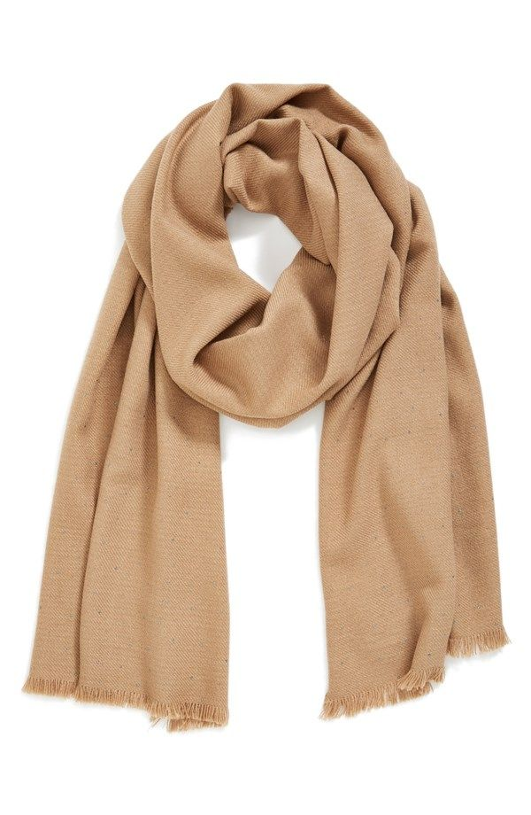 7 Ways To Wear A Camel Scarf Whowhatwear