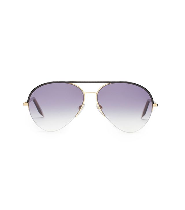 Victoria Beckham Leather Palomino Aviators