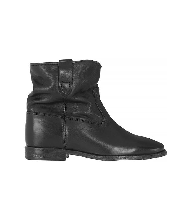 Isabel Marant Etoile Cluster Concealed Wedge Ankle Boots