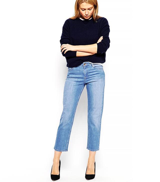 ASOS Thea Premium Girlfriend Jeans