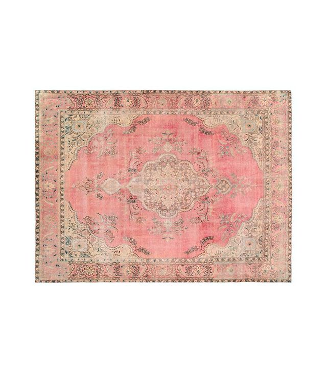 Retro Rugs Vintage Overdyed Persian Rug