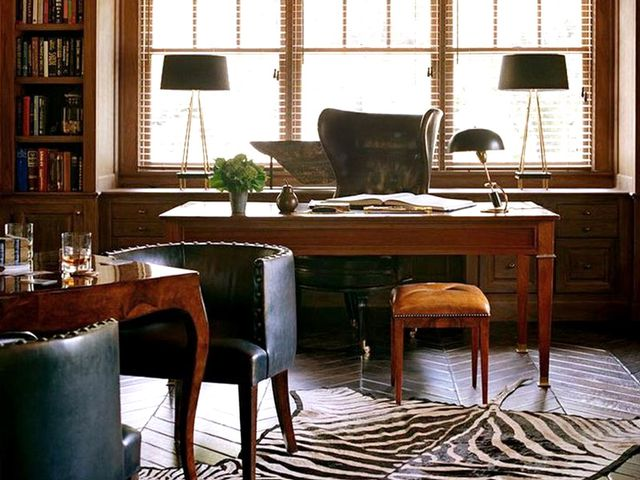 Shop The Room A Moody Masculine Office Mydomaine