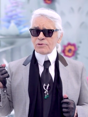 Karl Lagerfeld on the Special Thing You'll Only See at Couture Shows