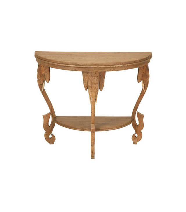 "1st Dibs Antique French Oak ""Elephant Safari"" Table"