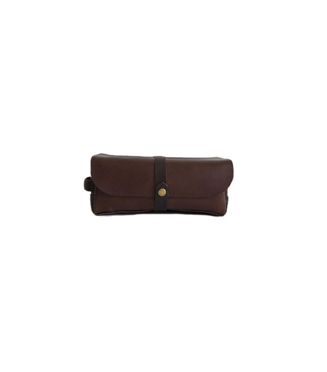 Teranishi Leather Dopp Kit