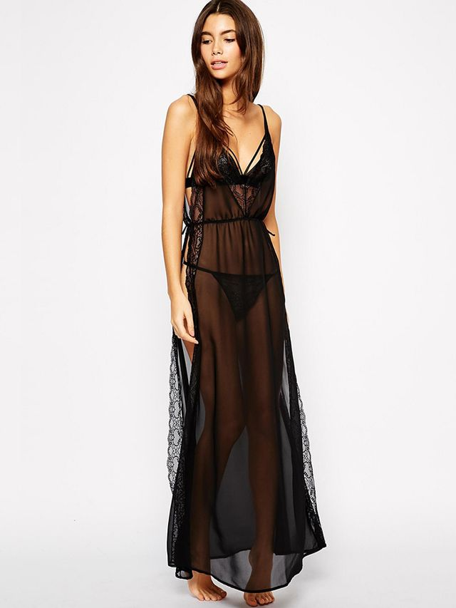 ASOS Open Side Lace Slip