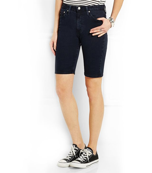 Alexa Chung for AG Jeans The Camille Stretch-Denim Short