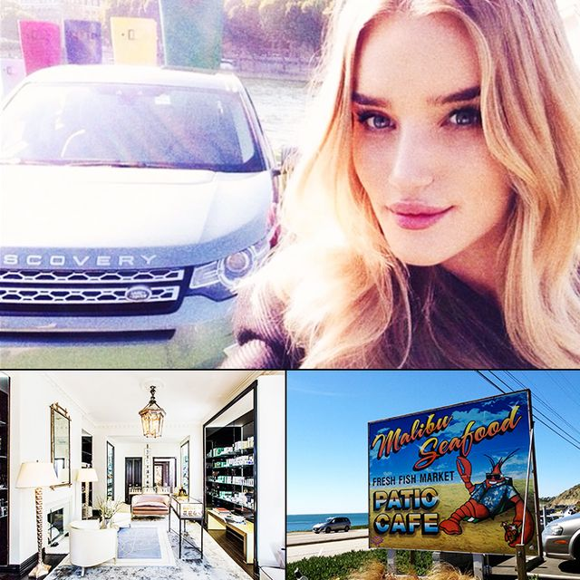 Rosie Huntington-Whiteley's Insider Guide to LA