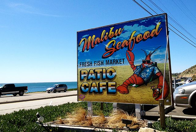 MALIBU SEAFOOD: for fish and chips on the beach in the summertime.