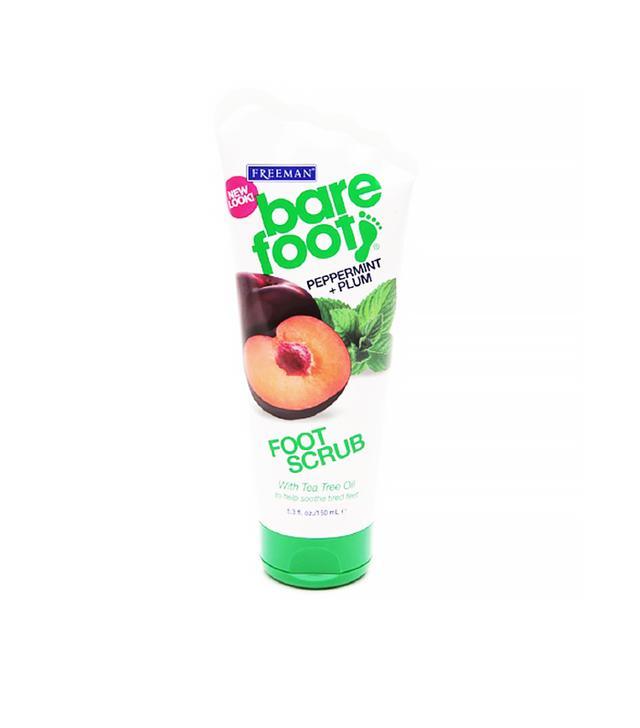 Freeman Bare Foot Creamy Pumice Foot Scrub in Invigorating Peppermint & Plum
